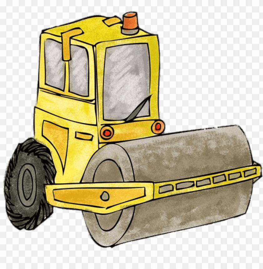 Steamroller Png - Download steamroller drawing png images background | TOPpng