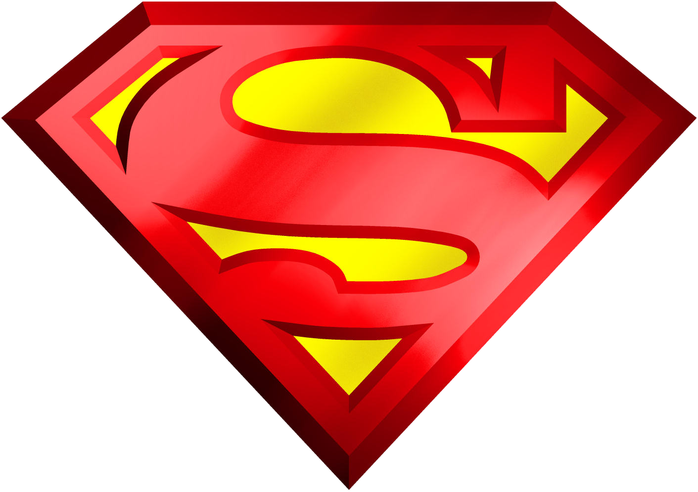 Download Superman Logo Transparent Png F 349227 Png