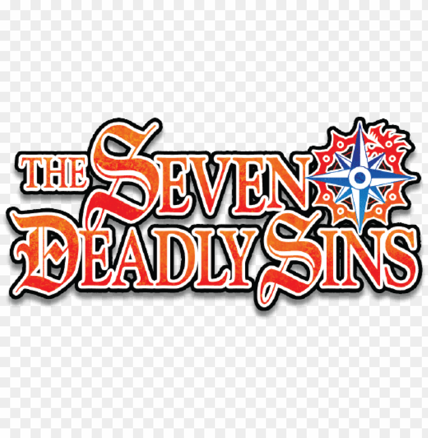 Seven Deadly Sins Png - Download the seven deadly sins logo png - Free PNG Images | TOPpng