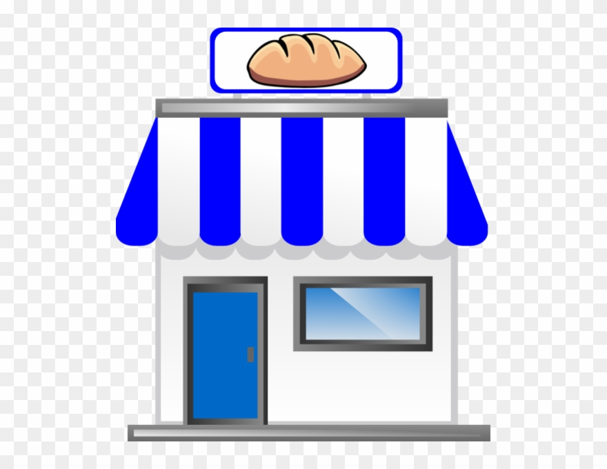 Bakery Shop Png - Download Vector Royalty Free Library Red Rounded With - Bakery ...