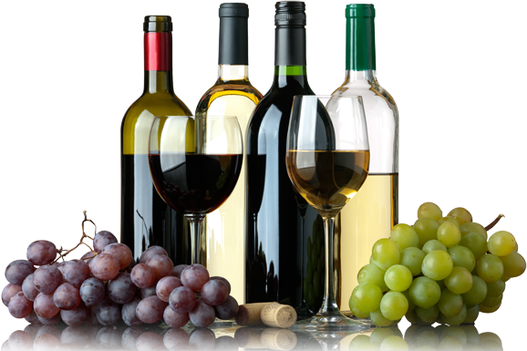Wine Bottle And Grapes Png - Download Wine And Grapes Whitey Liquors - Wine And Grapes Png ...