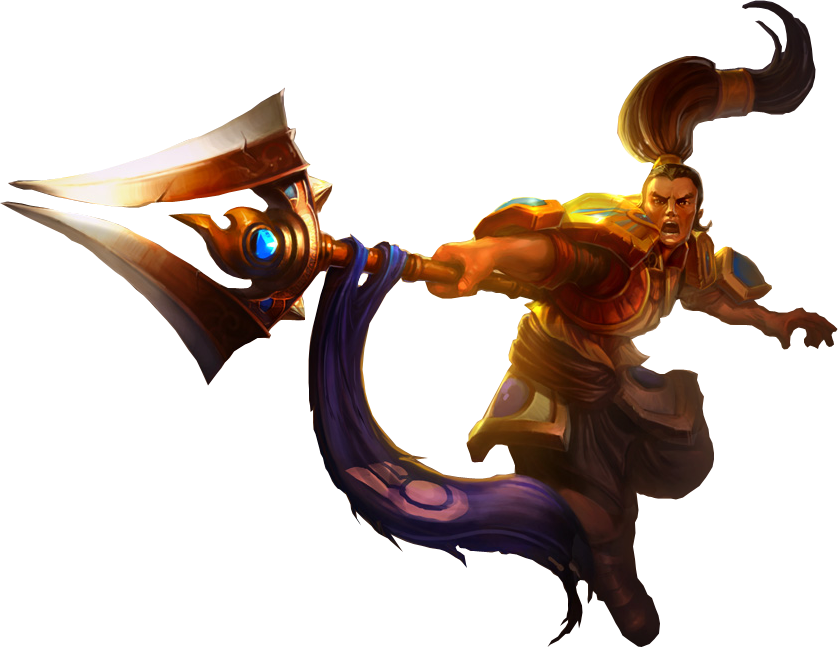 Xin Zhao Png - Download Xin-zhao Classic Splashart Png Image - League Of Legends ...