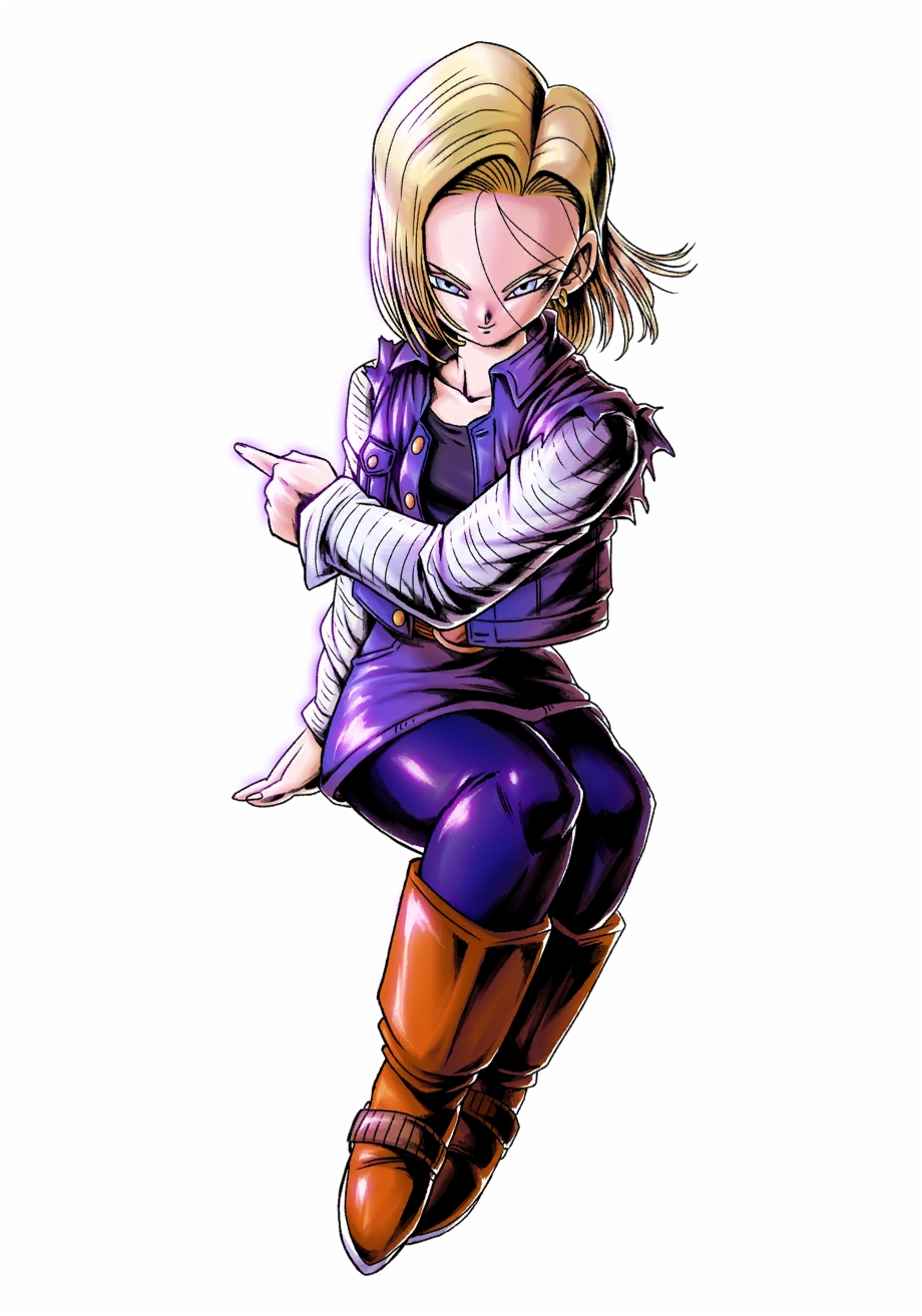 Android 18 Png - Dragon Ball Legends Android 18, HD Png Download (3527505 ) | Free ...