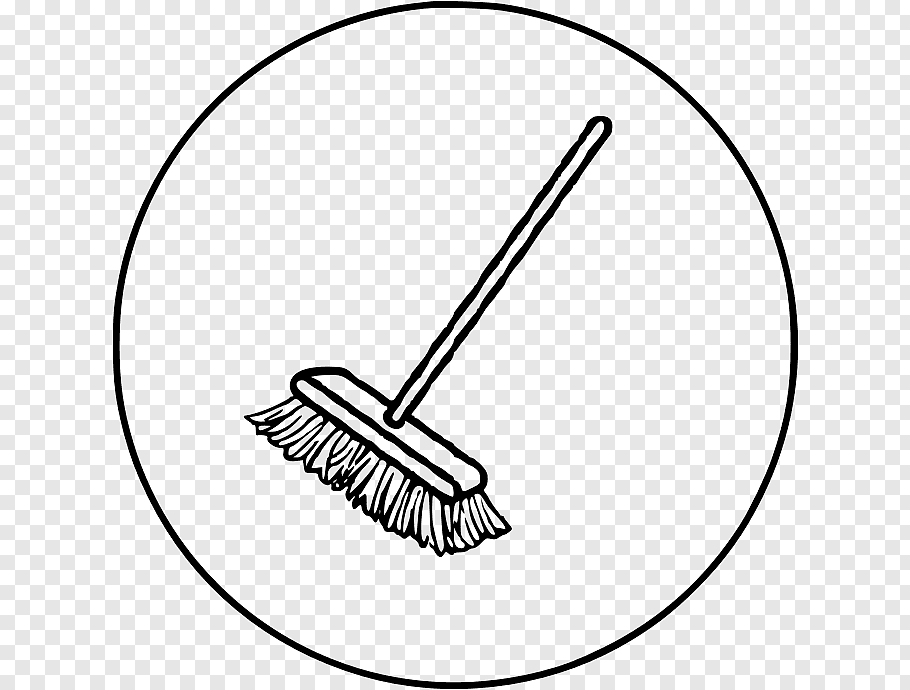 Broom Drawing Png - Drawing Broom, Line Art, Household Cleaning Supply free png | PNGFuel