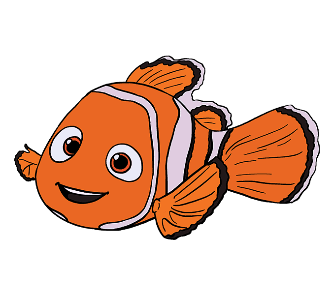 Nemo Anemone Png - Drawing Nemo Sea Anemone Transparent & PNG Clipart Free Download - YWD