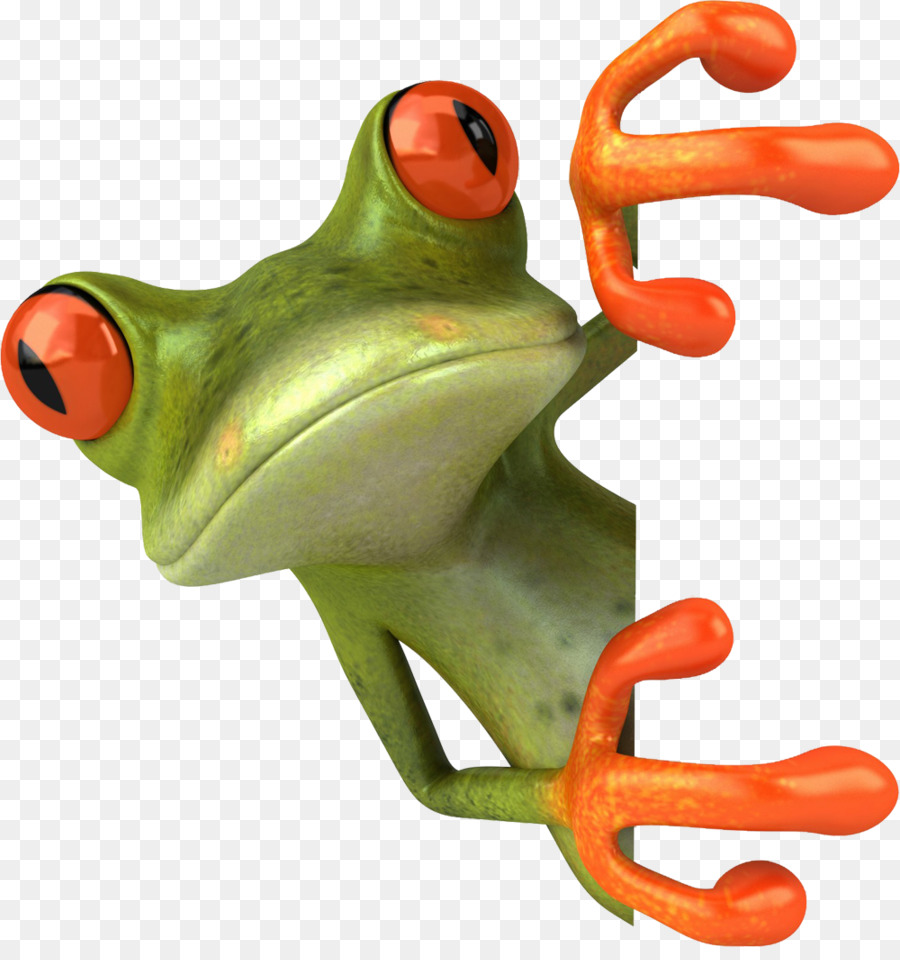 Green Frog Clip Png - Drawing Tree