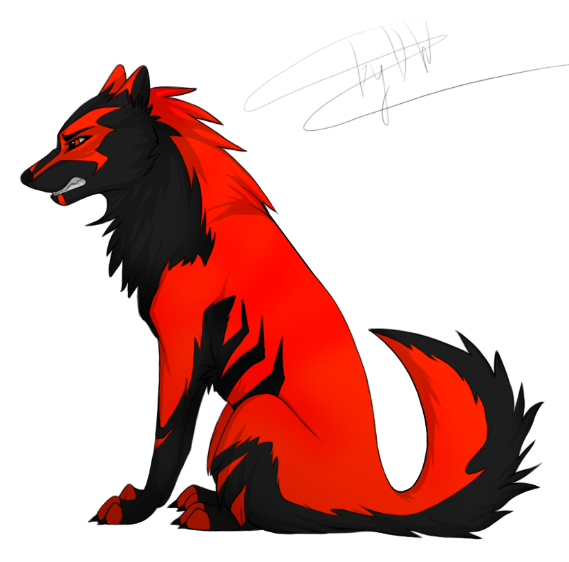 Red Wolf Animation Png Free Red Wolf Animation Png Transparent Images 142124 Pngio