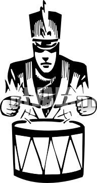Marching Band Drummer Png - Drums Marching Band Drum Transparent & P #1734965 - PNG Images - PNGio