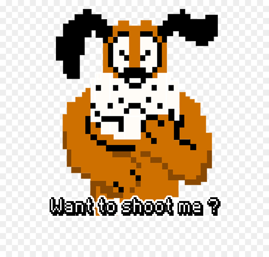 Duck Hunt Dog Png - Duck Hunt Text