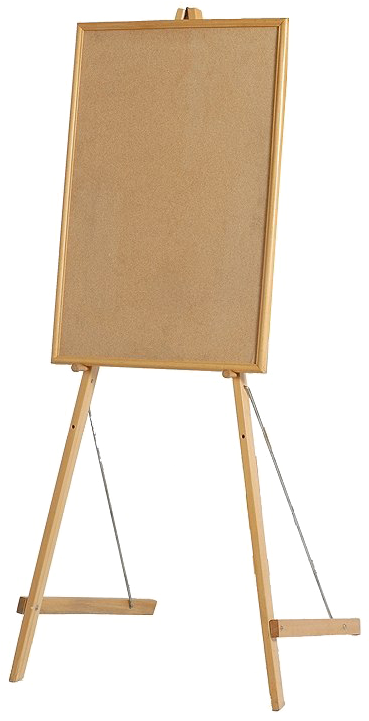 Portable Artist Easel Png - Easel Clipart Short - Portable Network Graphics - Png Download ...