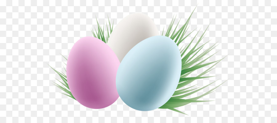 Easter Eggs In Grass Png - Easter Egg Background