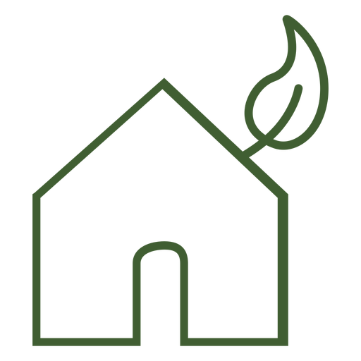 Eco Png - Eco home icon - Transparent PNG & SVG vector file