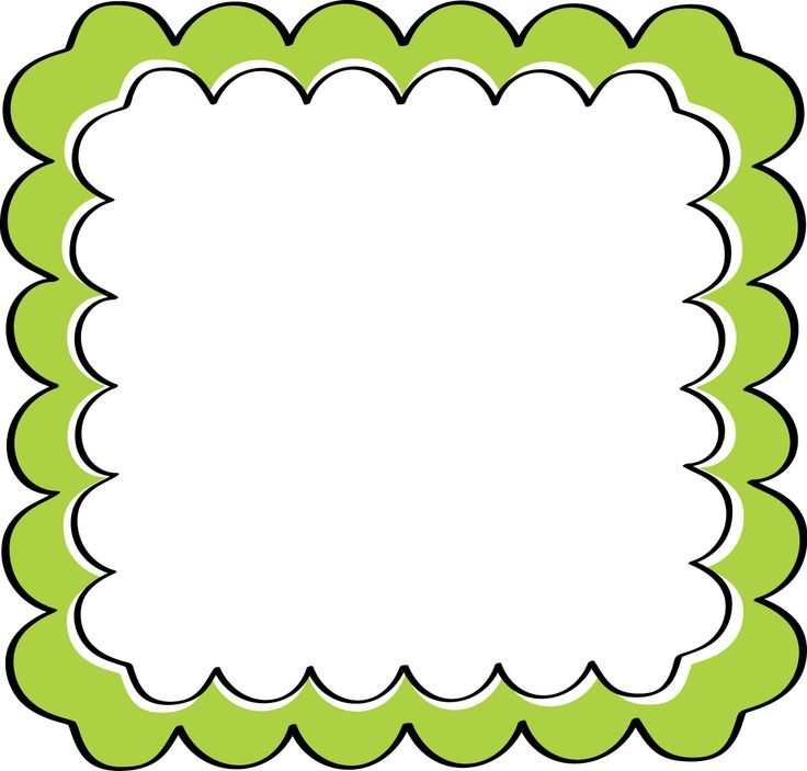 Frog Png With No Border - Education Theme Borders - Clip Art Library