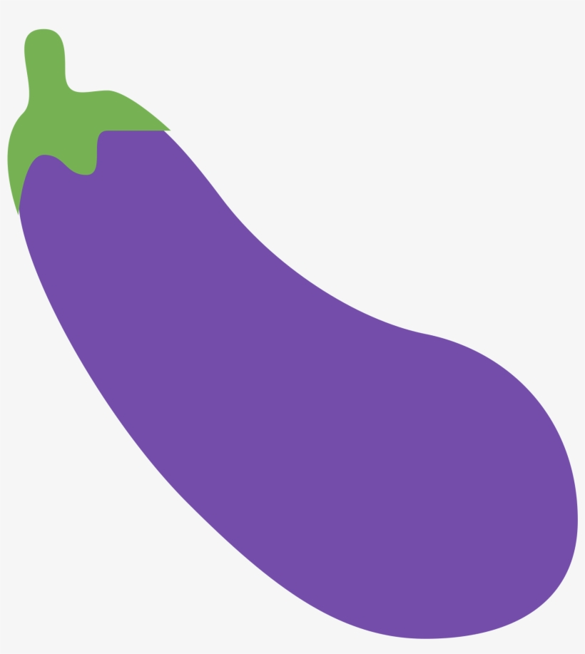 Eggplant Emoji Png - Eggplant Png Emoji - Eggplant Emoji Twitter - Free Transparent PNG ...
