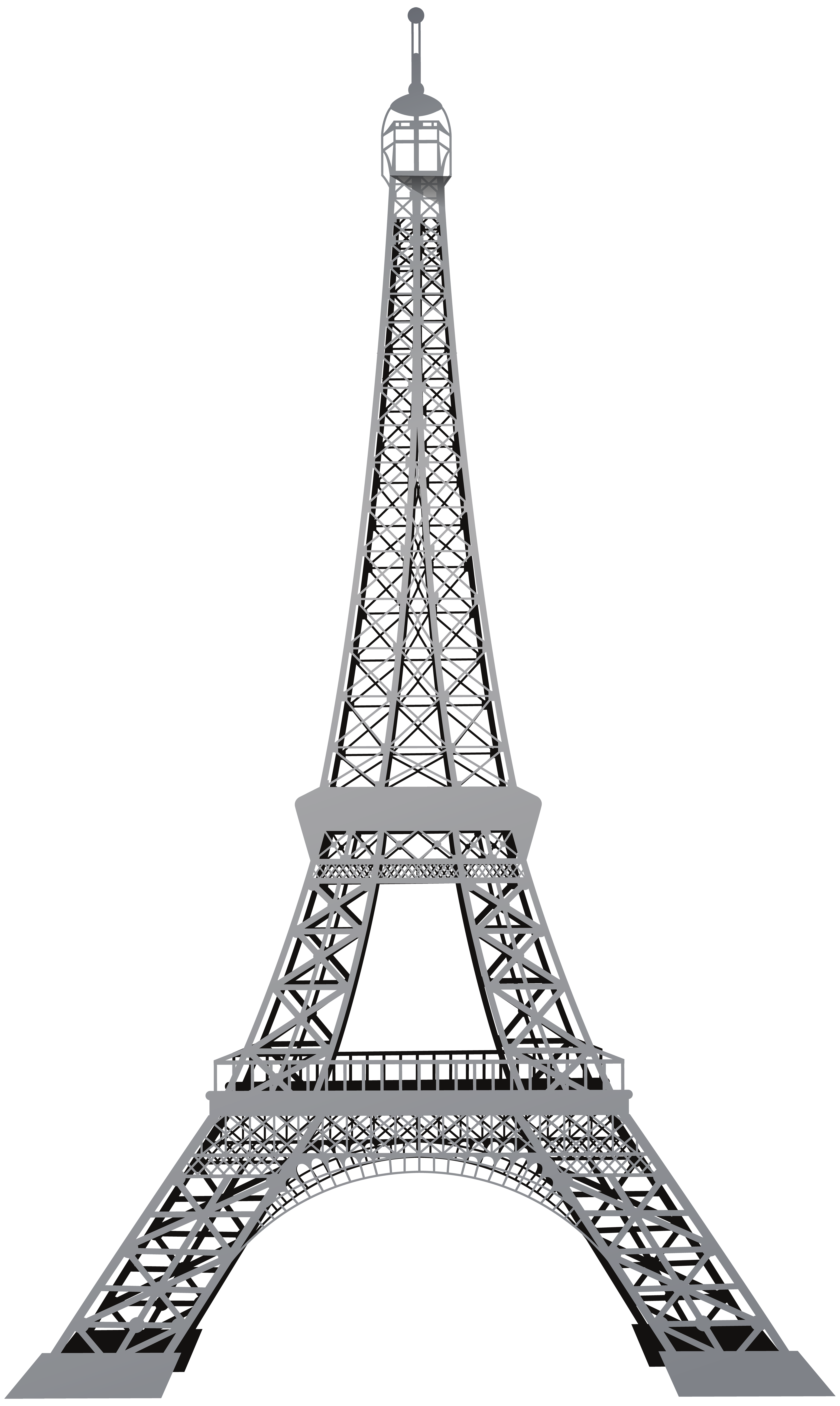 Eiffel Tower Png Black And White & Free Eiffel Tower Black ...