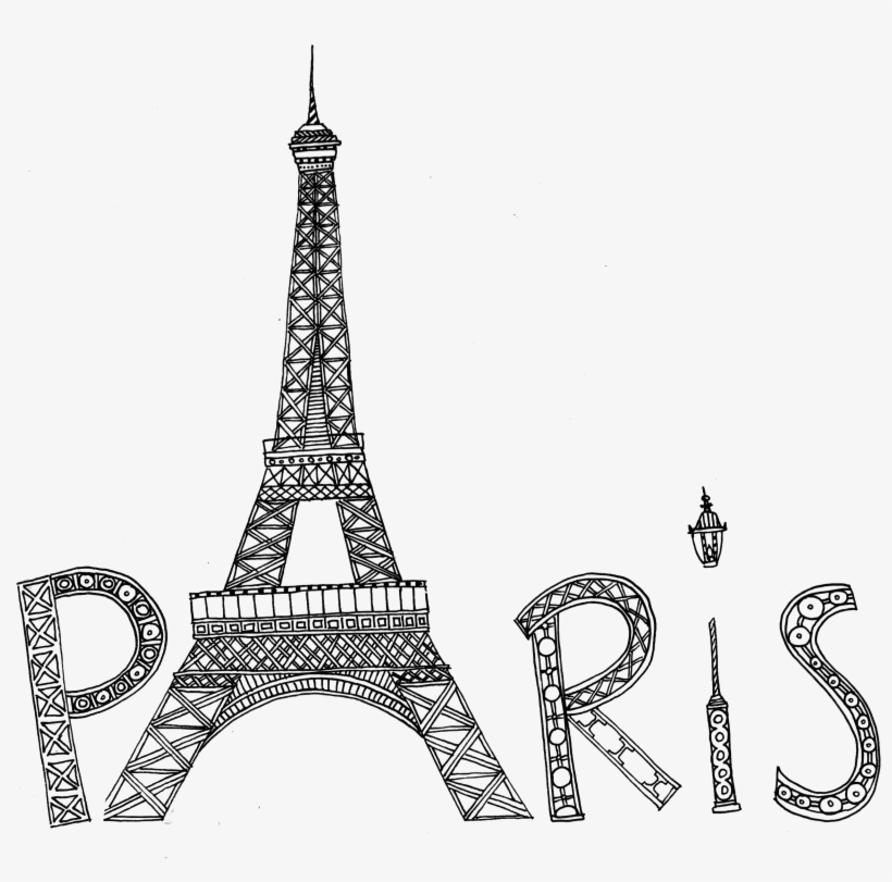 - Eiffel Tower Coloring Pages Png & Free Eiffel Tower Coloring Pages.png  Transparent Images #93263 - PNGio