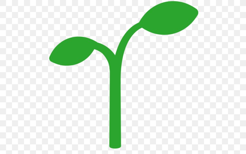 Sprouting Png - Emoji Leaf Text Messaging Seedling Sprouting, PNG, 512x512px ...