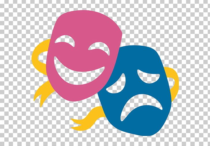 Musical Theatre Png - Emoji Musical Theatre Mask Drama PNG, Clipart, Art, Cheek, Comedy ...