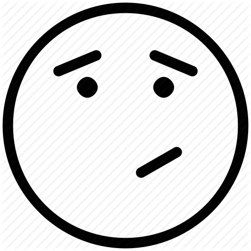 Thinking Smiley Png Black And White Amp Free Thinking Smiley