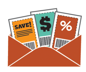 Coupon Png - envelope full of coupons