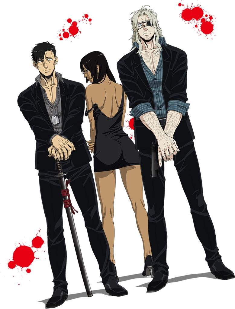 Gangsta Anime Pngs - Episode 3 of gangsta came out yesterday i rate it 7/10 | Anime Amino