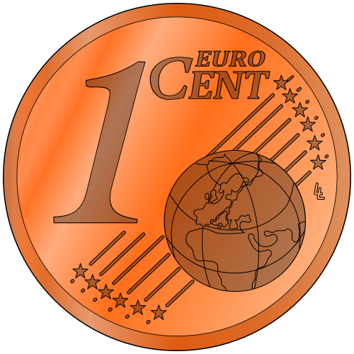 Cent Png - euro one cent - /money/coins/euro_coins/euro_one_cent.png.html