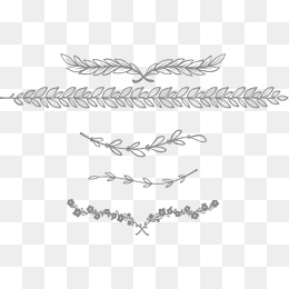 Lace Png - european-style lace separator bar, Dividing Line, Frame, Horizontal Flowers  PNG and