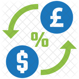 Exchange Rate Icon Of Flat Style Avail Png Images Pngio