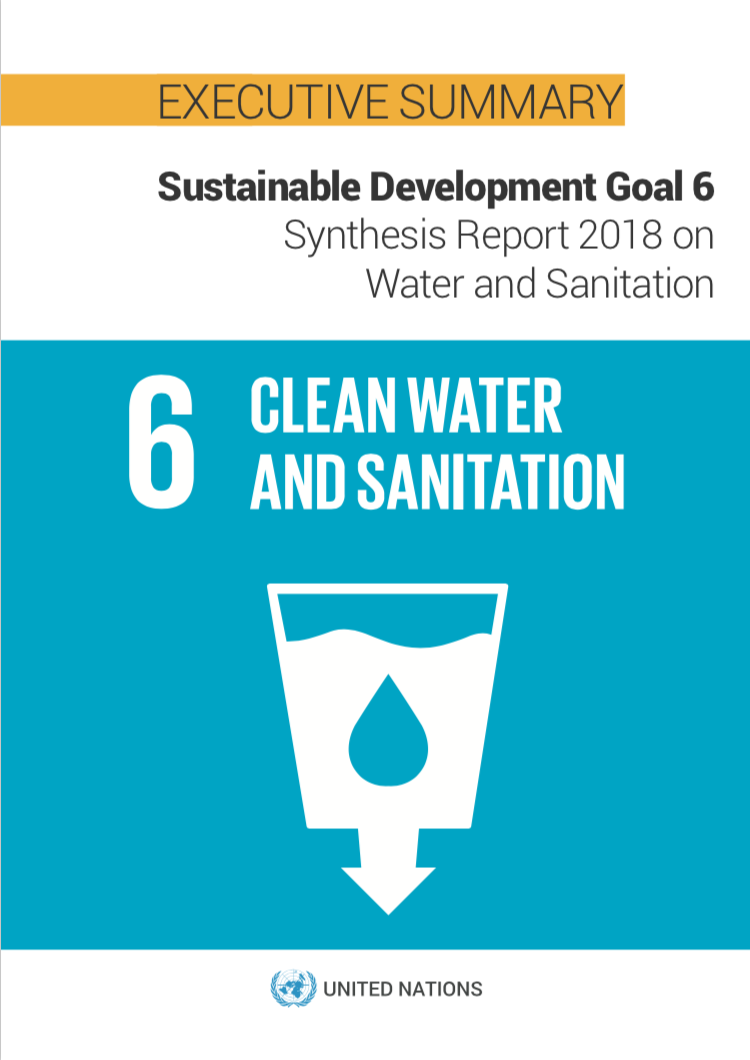 Sustainable Development Goal 6 Png - Executive Summary - SDG 6 Synthesis Report 2018 on Water and ...
