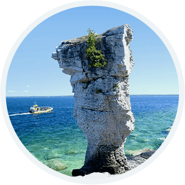 Flowerpot Island Ontario Png - Experience and Explore Flowerpot Island - Bruce Anchor Cruises