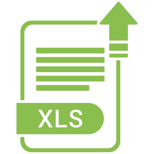 Xls Png - Extension, file, format, paper, xls icon