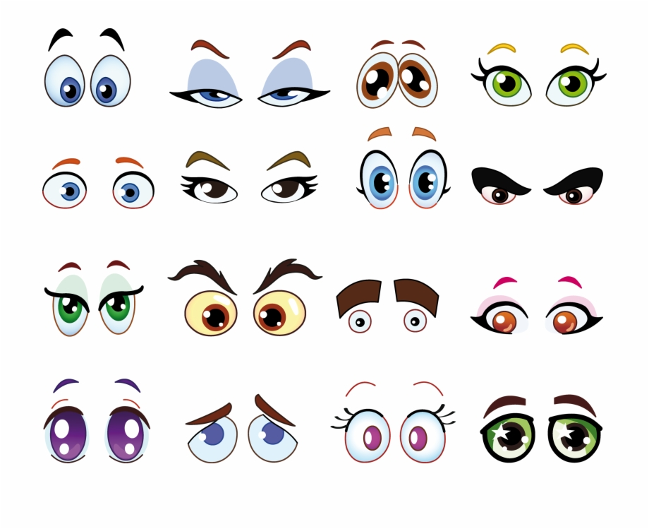 Eyes Drawing Cartoon Sassy Cartoon Eye 1200551 Png Images Pngio