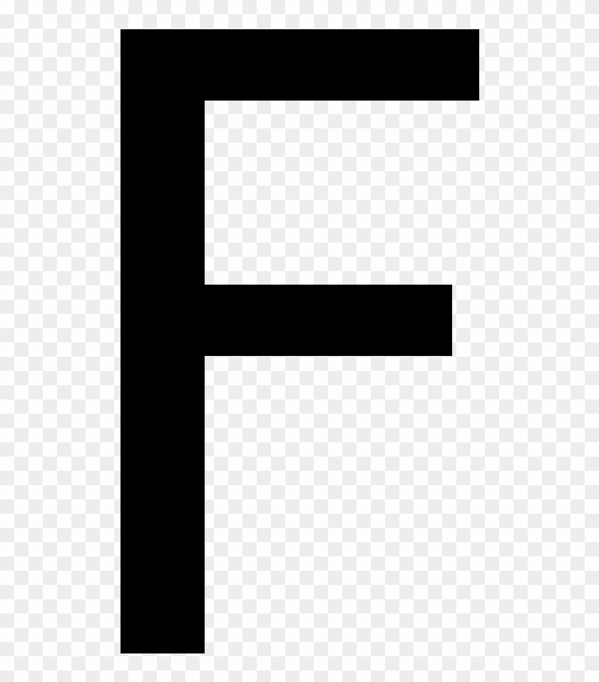 Letter F Png Black And White Transparent Images 5502 Pngio