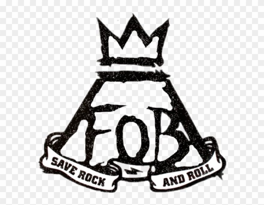 Fall Out Boy Logo Png - Fall Out Boy Save Rock And Roll Logo Clipart (#1831278) - PinClipart