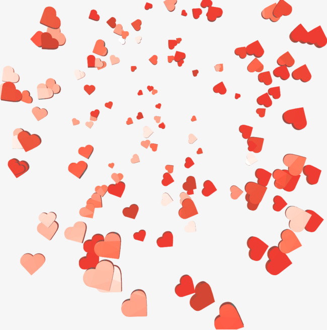 Falling Hearts Png 101 Images In Colle 547766 Png
