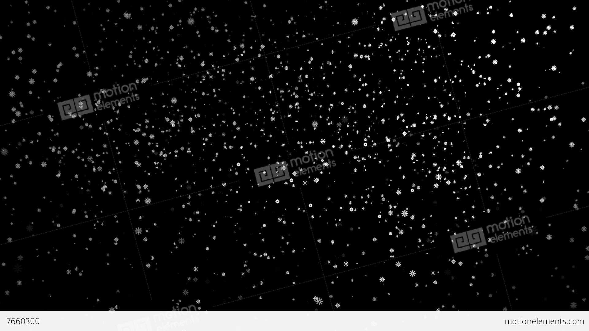 Snow Png - Falling Snow, Alpha channel, PNG+Alpha, transparent... Stock Video
