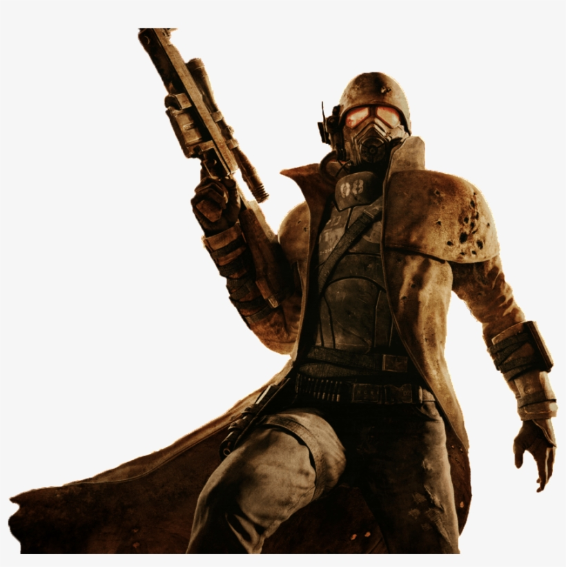 Fallout New Vegas Png - Fallout 4 Character - Fallout New Vegas Dlc - Couriers Stash ...
