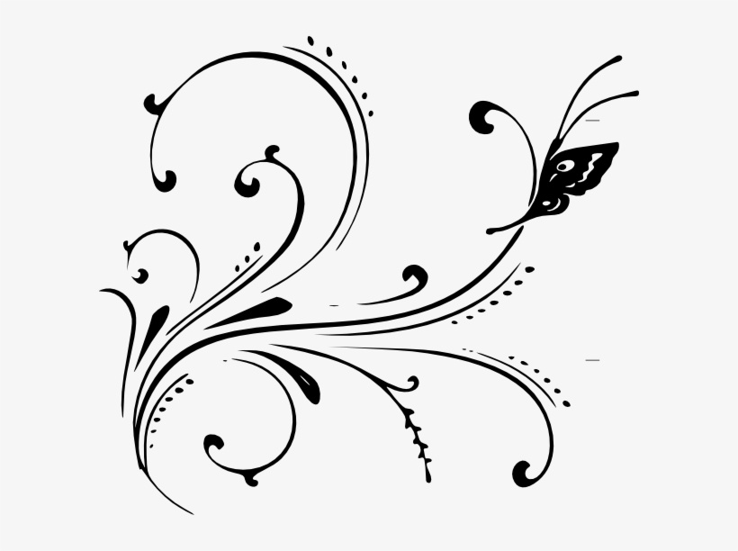 Fancy Scroll Png Swirl Design Png Png 1906956 Png Images Pngio