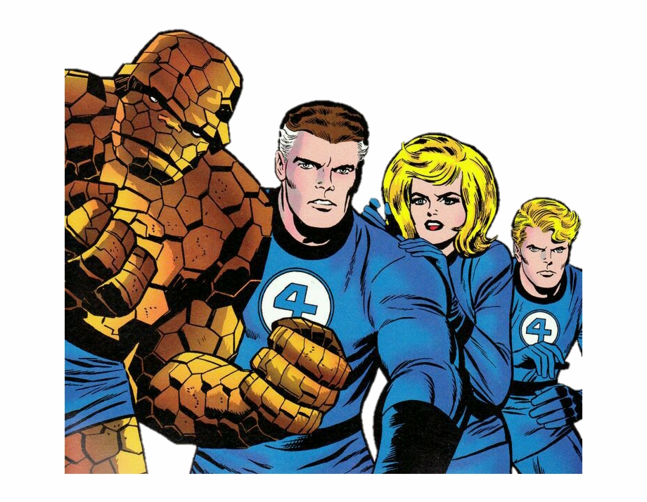 Fantastic Four Pngs - Fantastic Four Png Free PNG Images & Clipart Download #2288118 ...