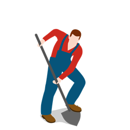 Man With Shovel Png Free Man With Shovel Png Transparent Images 168 Pngio