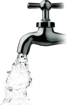 Tap Water Png Black And White & Free Tap Water Black And ...