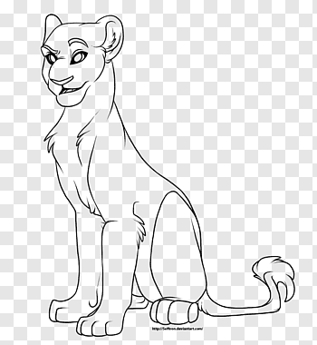 Female Lion Drawings Png - Female Lion PNG cliparts | PNGWave