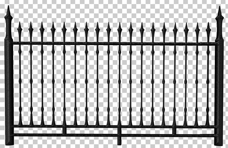 Metal Fence Png - Fence Chain-link Fencing Iron Railing PNG, Clipart, Black And ...