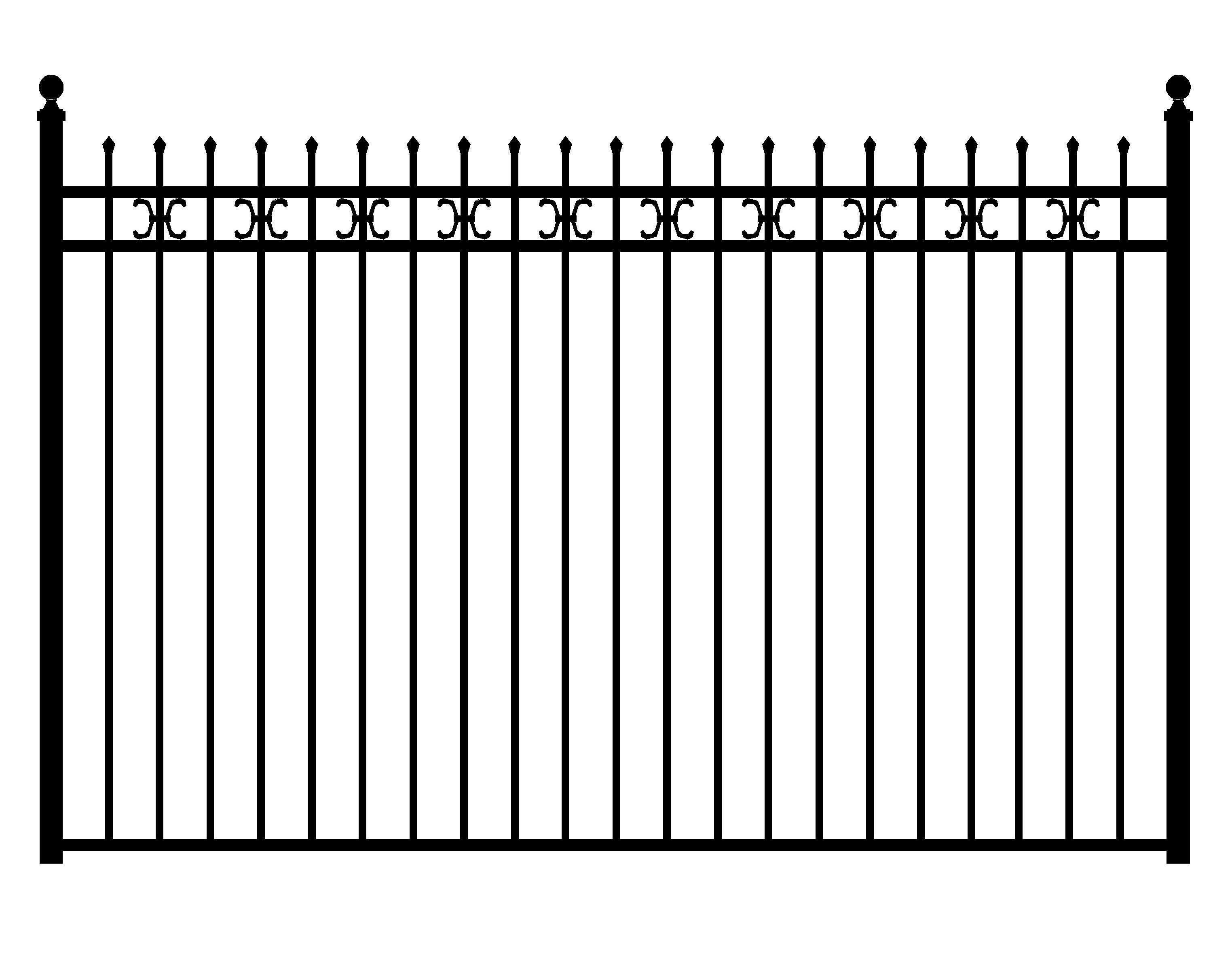 Metal Fence Png - Fence Png, png collections at sccpre.cat