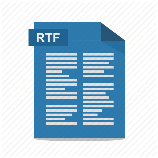 Rich Text Format Png - File, format, rich text, rtf, wordpad icon