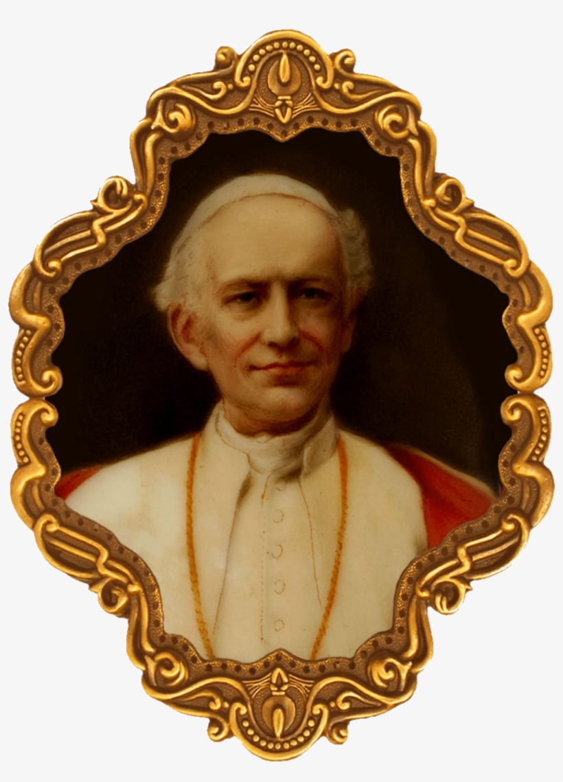 Pope Leo Xiii Png - File - Leo13 - Pope Leo Xiii Png - Free Transparent PNG Download ...