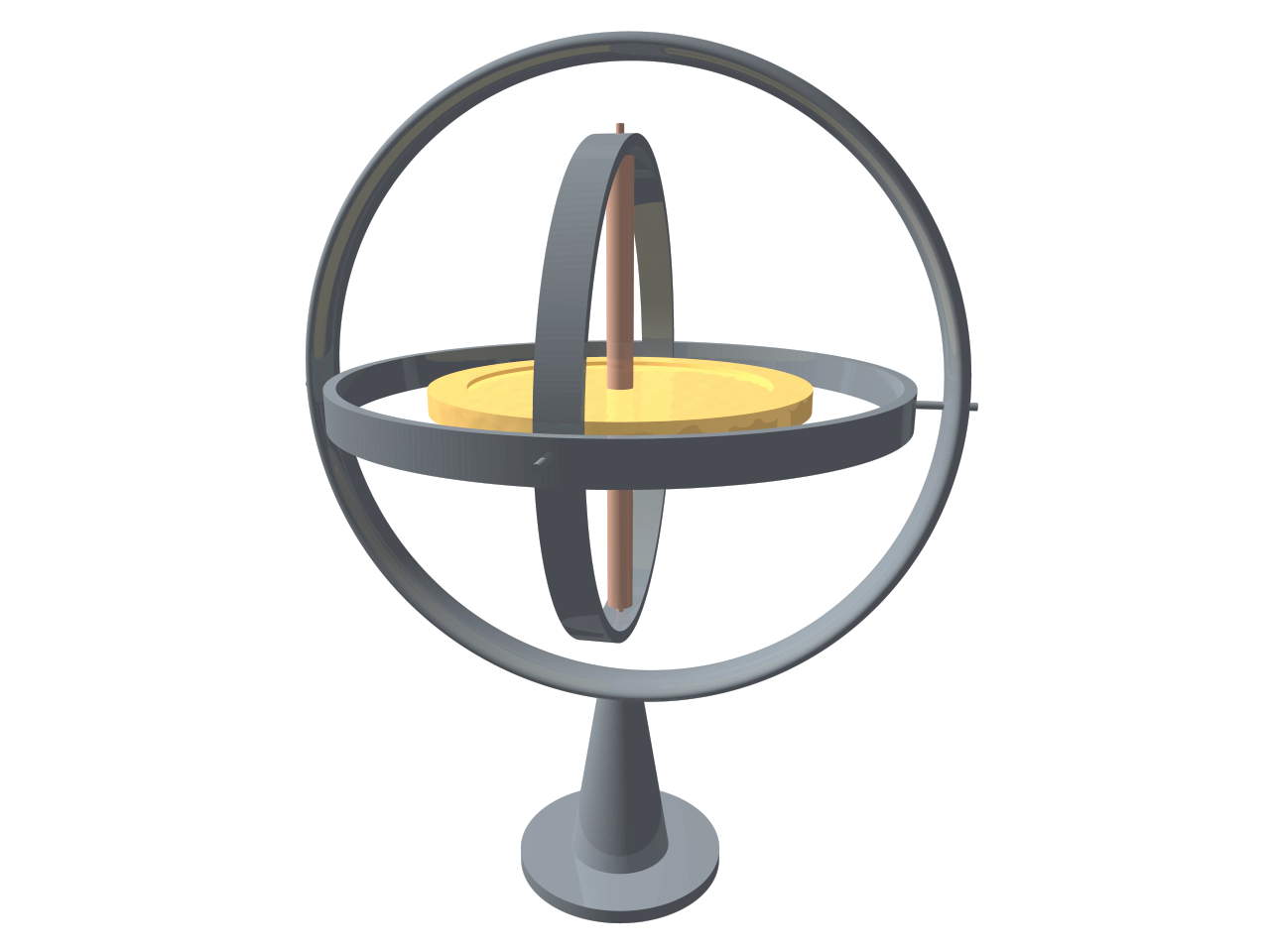 Gyroscope Png - File:3D Gyroscope-no text.png - Wikipedia