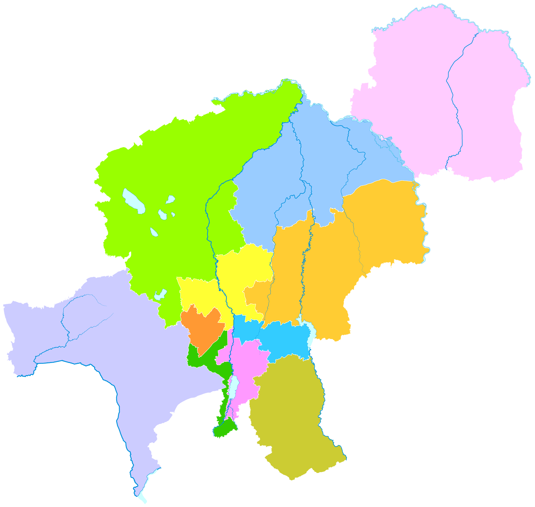 Changchun Png - File:Administrative Division Changchun.png - Wikimedia Commons