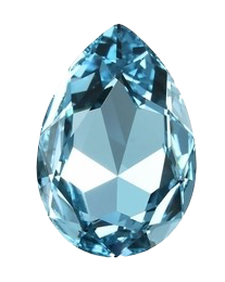 Gemstone Png - File:Aquamarine Real Life Gemstone.png