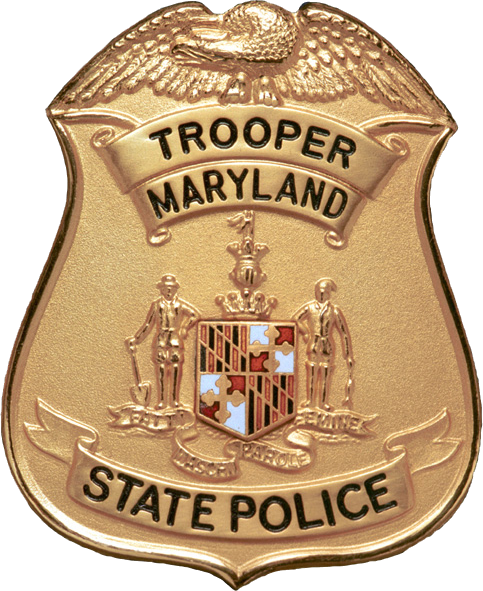 State Police Png - File:Badge of a Maryland State Police trooper.png - Wikimedia Commons